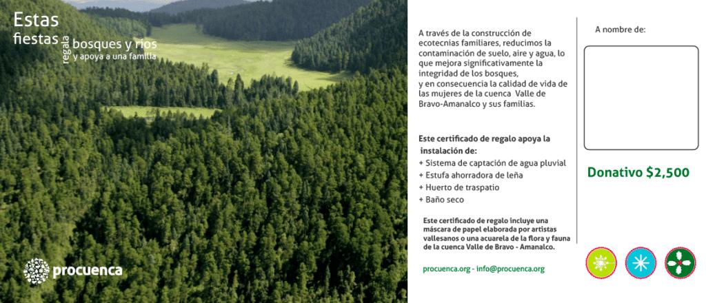 Regala bosques y rios